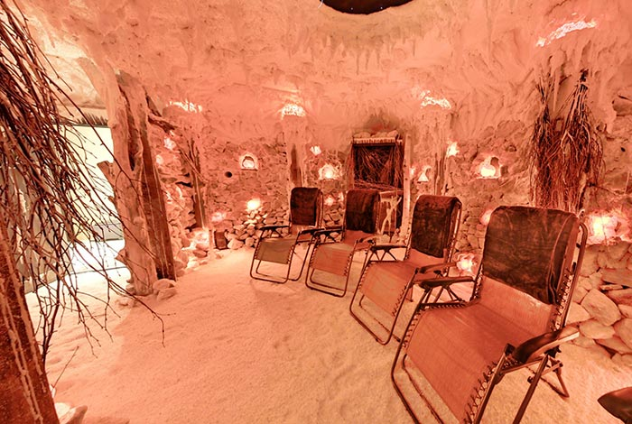 True therapeutic properties of a Healing Salt Cave
