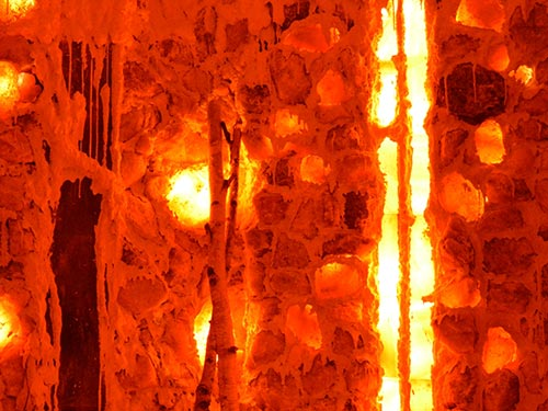 salt brick decorations