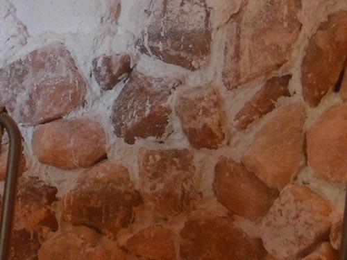 salt on the walls