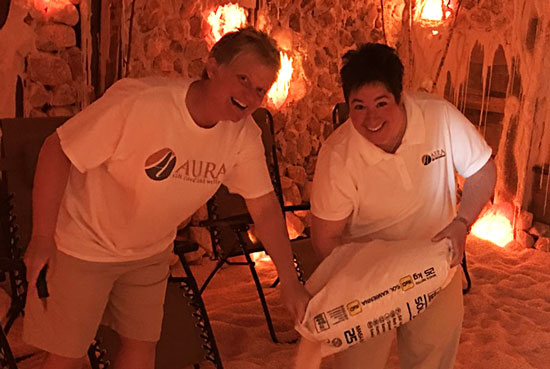 Tadgi and Kelly DeBerg | Owners of AURA Salt Cave and Wellness, Amherst NY